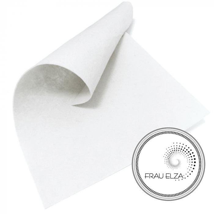 Фетр листовой, белый