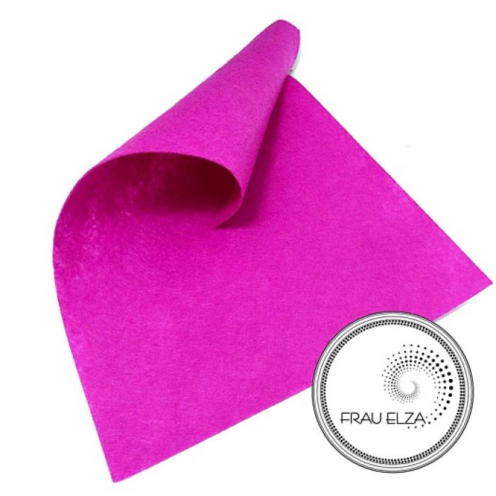 Фетр листовой, пурпурный