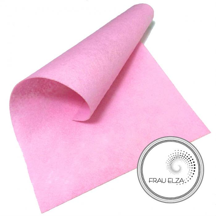 Фетр листовой, розовый