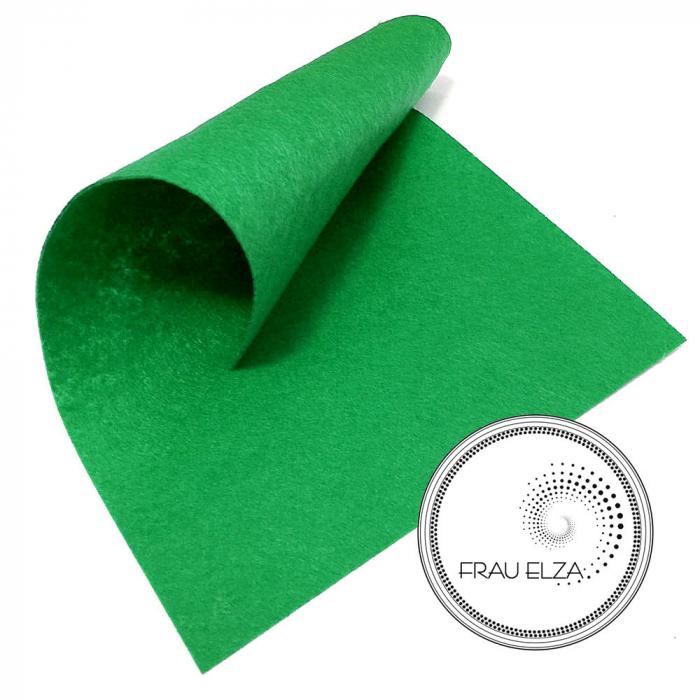 Фетр листовой, зеленый