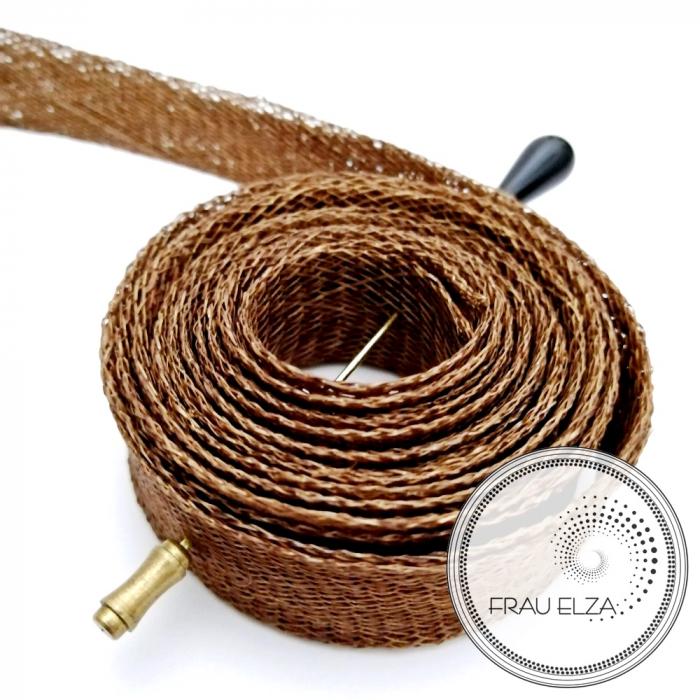 Лента синамей, коричневая