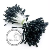 Матовые тычинки 2 мм, черные