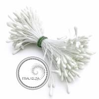 Матовые тычинки 2 мм, белые